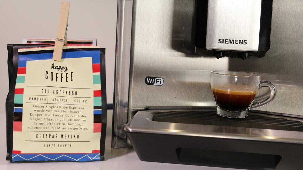 Bio Kaffeebohnen