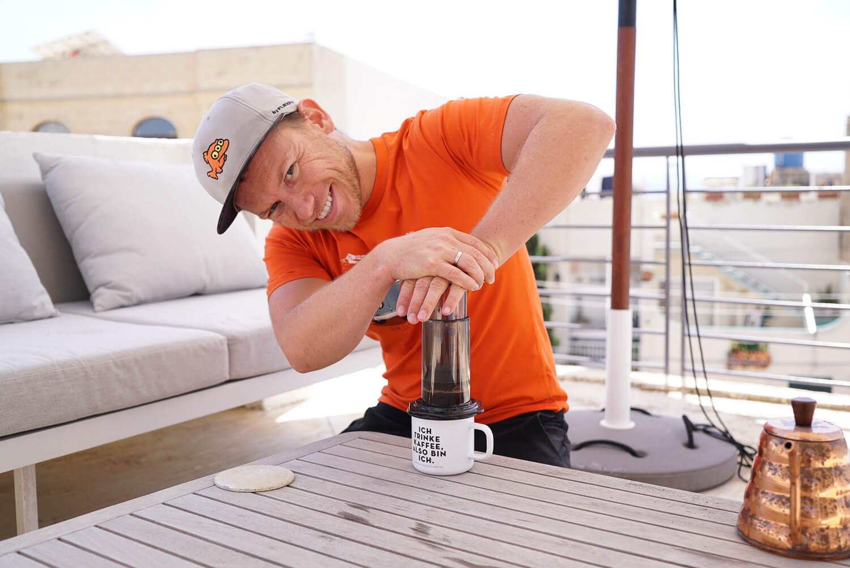 Arne und sein Kaffee Blog mit vielen Anleitungen