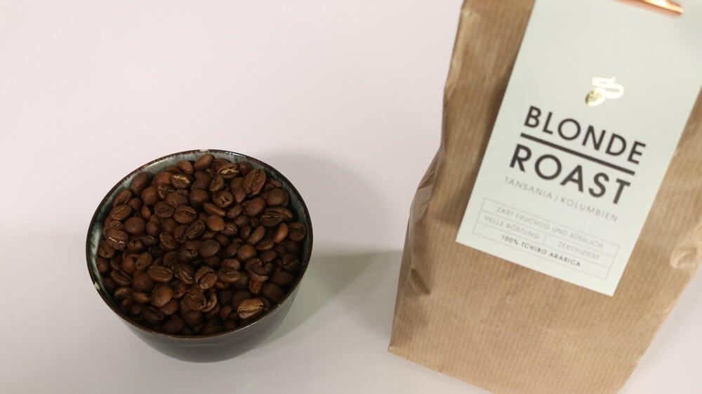 Kaffeebohnen von Tchibo